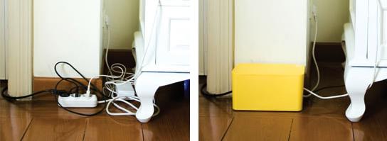 Cable box mini para ocultar tus cables el tornillo que te falta - Caja para ocultar cables ...