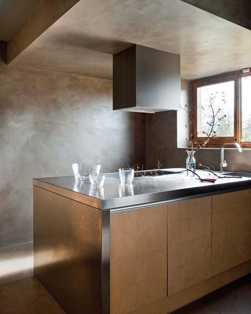 Casa en la monta a el tornillo que te falta - Cocinas de microcemento ...