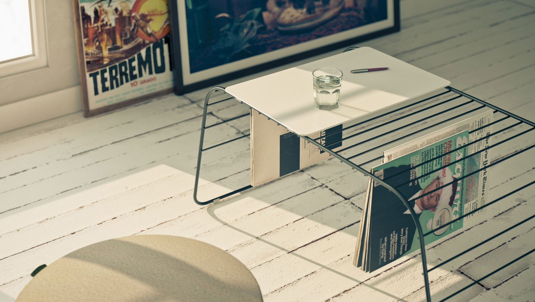 Marc coffee table by gauzak el tornillo que te falta - Diseno industrial barcelona ...