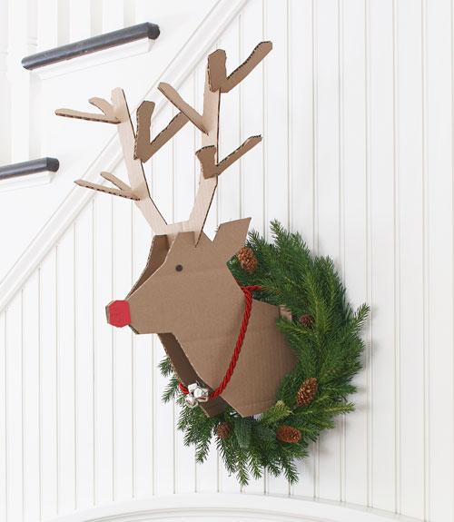 ser ms ingeniosos y creativos con los regalos y los navideos yo igual intento fabricarme este fantstico rudolph para decorar mi casa