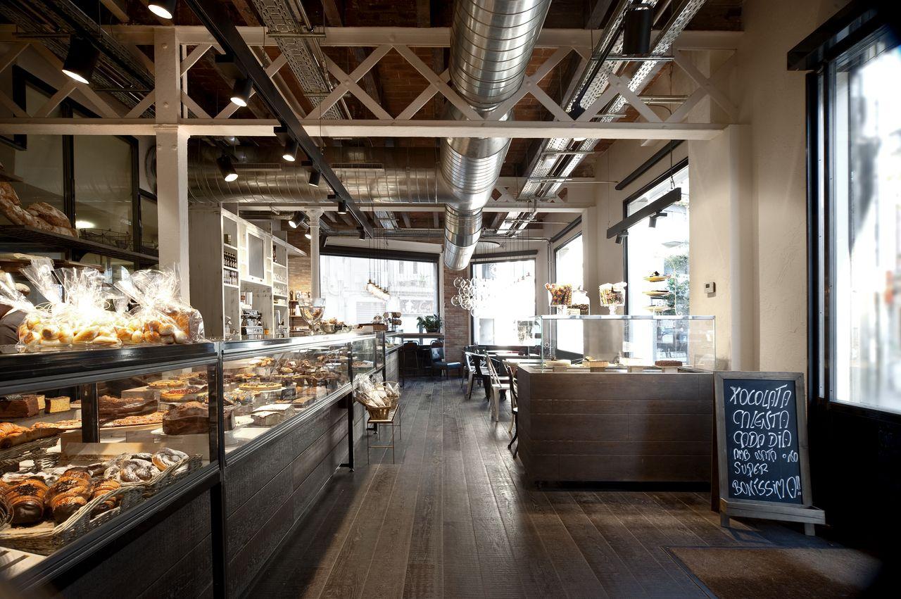 Serraj rdia una panader a vintage e industrial el for Estilo industrial vintage