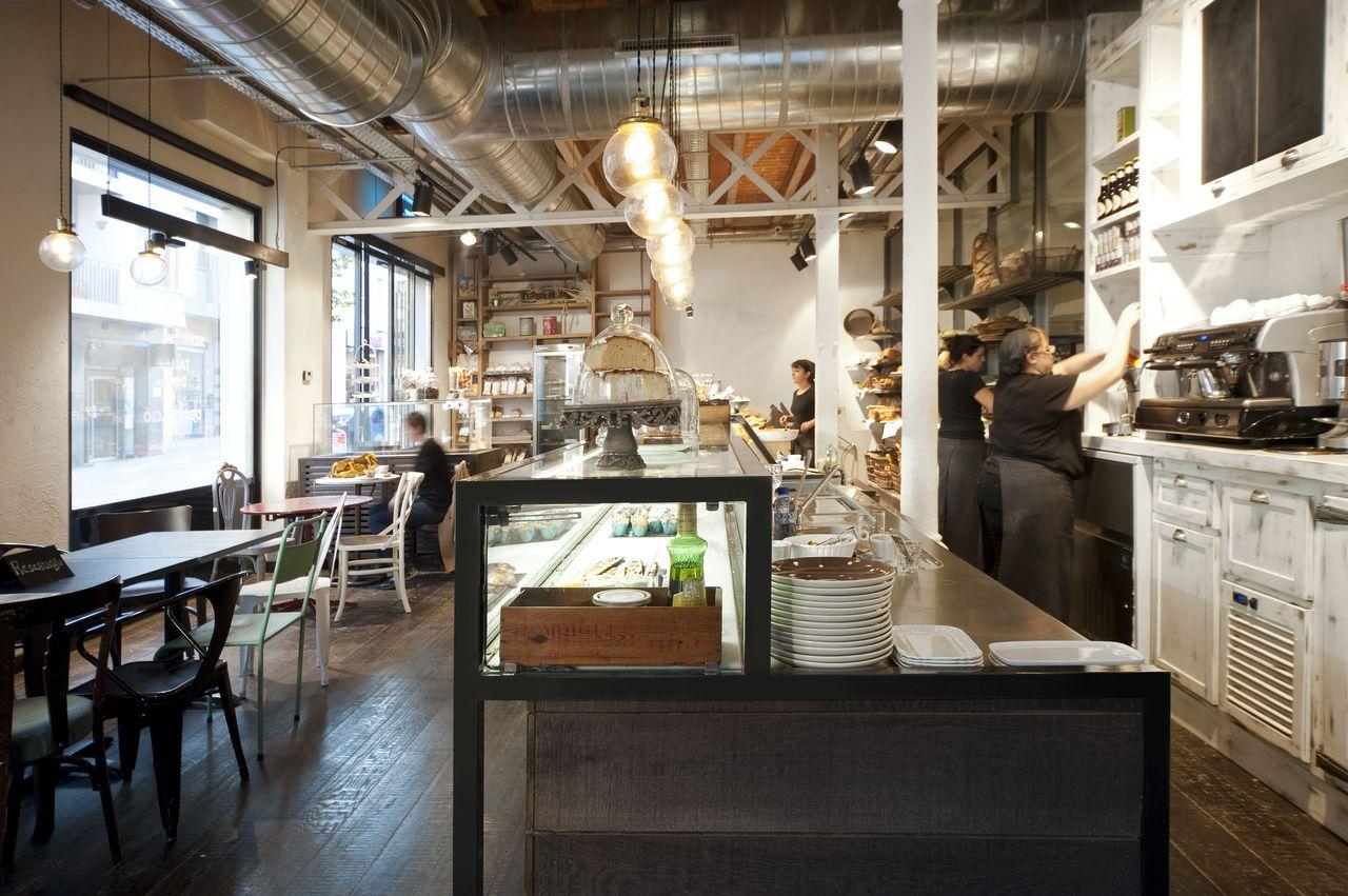 Serraj rdia una panader a vintage e industrial el - Decoracion vintage industrial ...