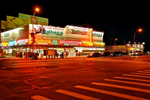 3-Nathan's seafood (Coney Island) - LOW
