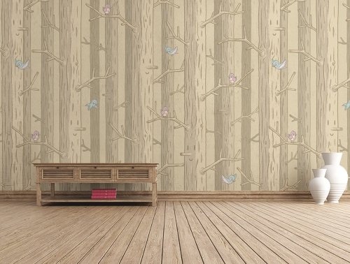 FOREST-homedecaramel-mural-from-TheWallery