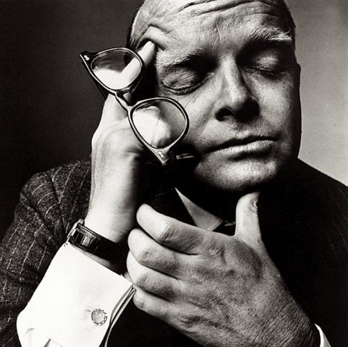 Truman Capote por Irving Penn