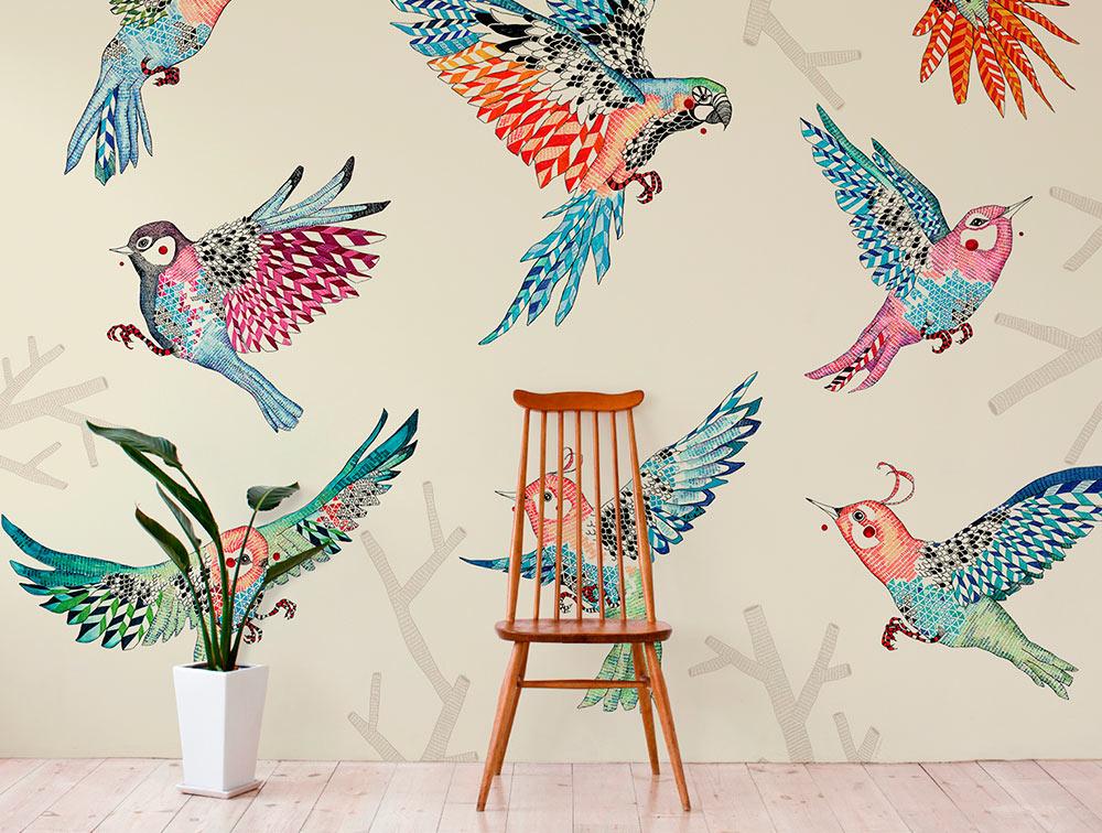 Papeles pintados el tornillo que te falta for Donde venden papel mural