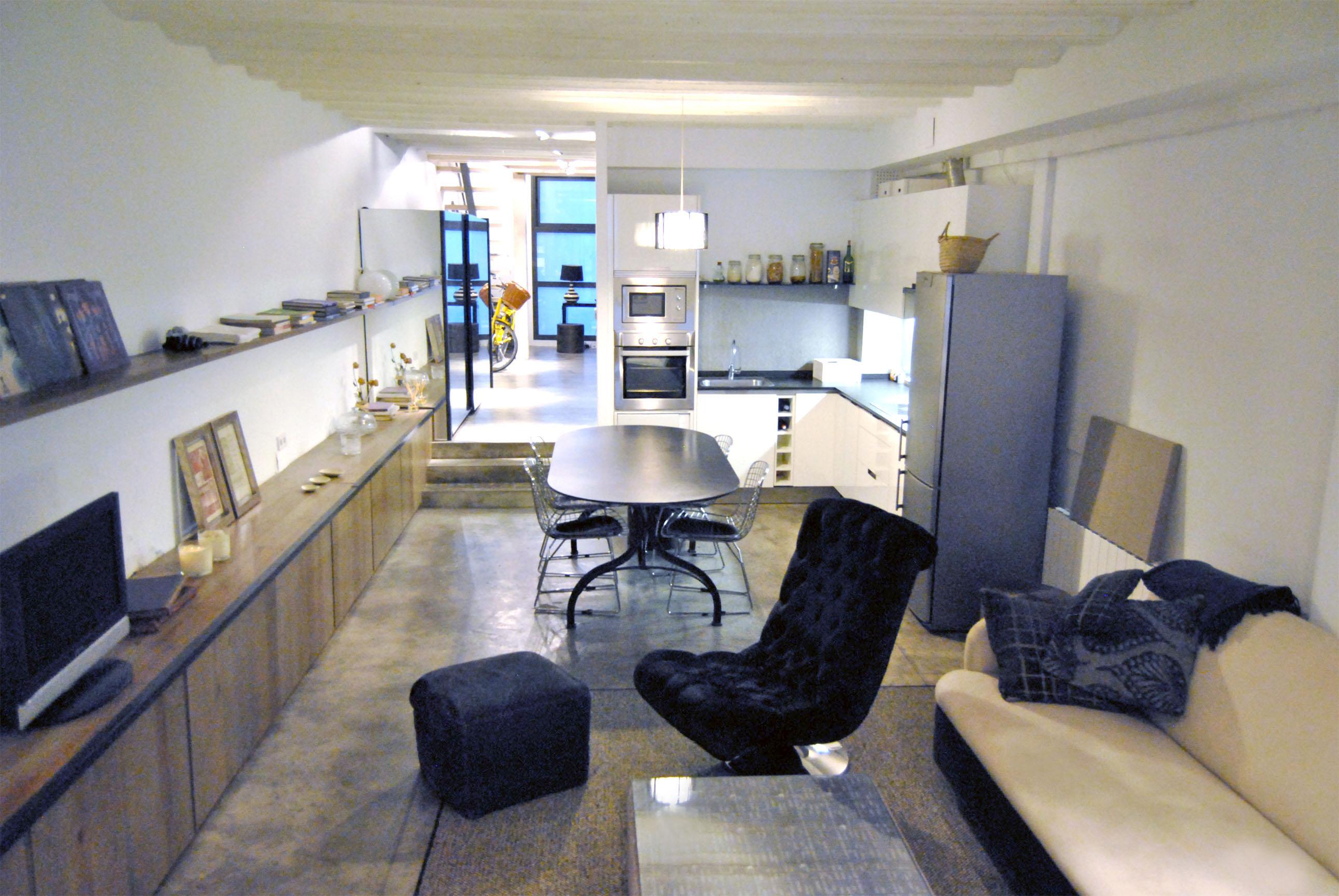 Loft en barcelona de estilo industrial y vintage el - Estilos de interiorismo ...