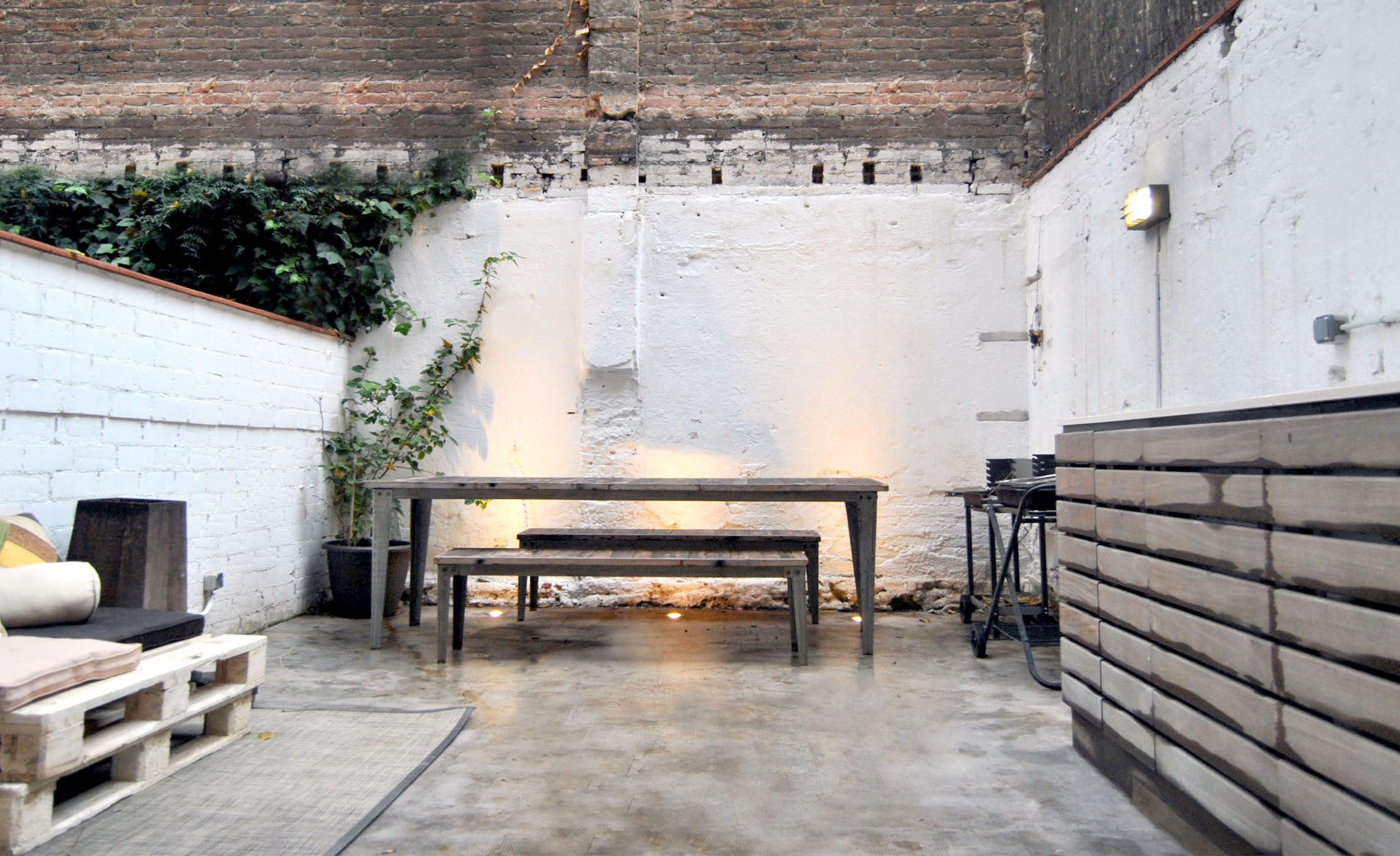 Loft en barcelona de estilo industrial y vintage el for Estilo industrial vintage
