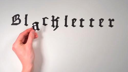 La historia de la tipografía (3)