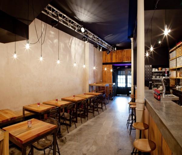 decoracion retro para bares