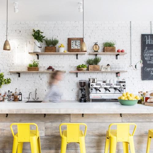 Hally's Café en Londres (1)