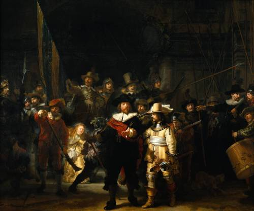 The Nightwatch - Rembrandt