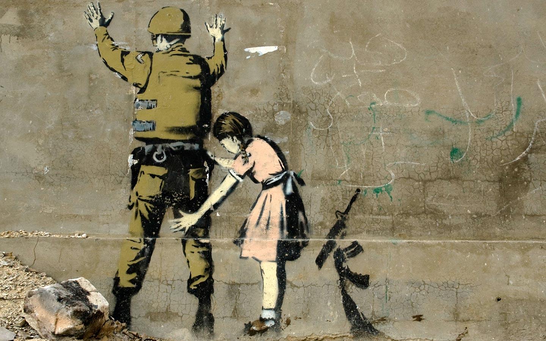 banksy 5 Las 20 mejores obras de Banksy