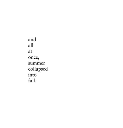 el tornillo que te falta - otoño