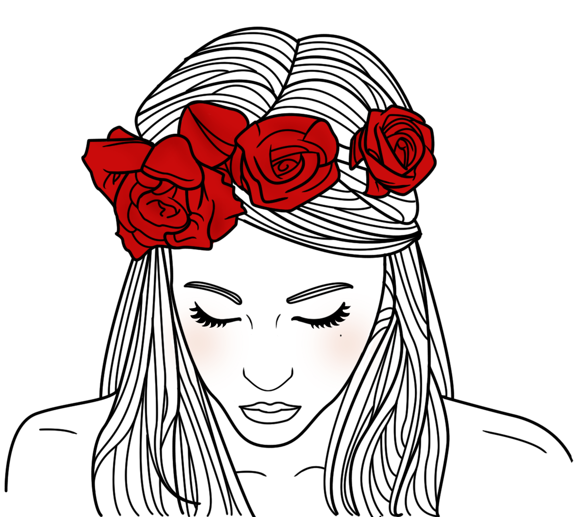 Line Art We Heart It : Sara herranz me alegra la semana el tornillo que te falta