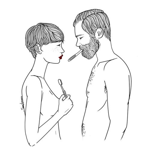 y joder te quiero, como fin de cualquier discusión