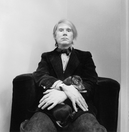 ARNOLD NEWMAN - Andy Warhol 1973