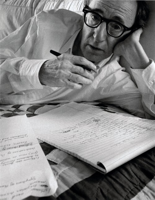 ARNOLD NEWMAN - Woody Allen