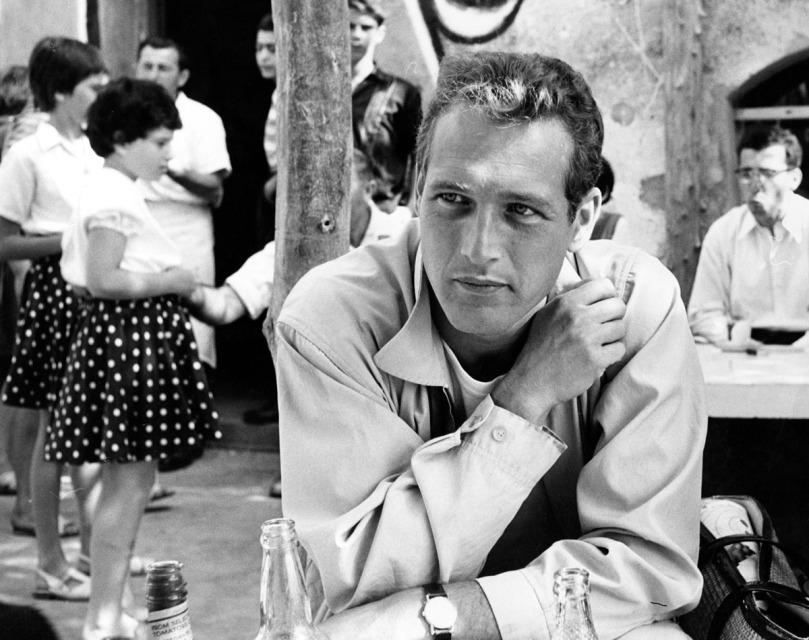 Paul Newman por Leo Fuchs