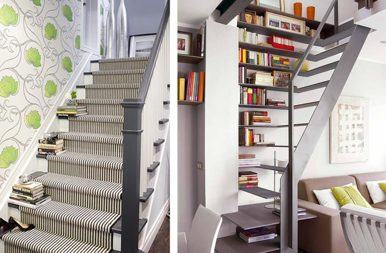 Escalera para biblioteca lugares muertos que con un poco - Escaleras para bibliotecas ...