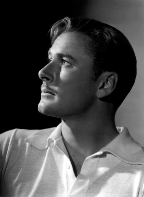 Errol Flynn - by George Hurrell 1938