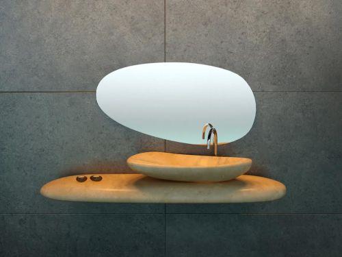 Lavabo River Stone - diseñado por DSIGNIO (1)