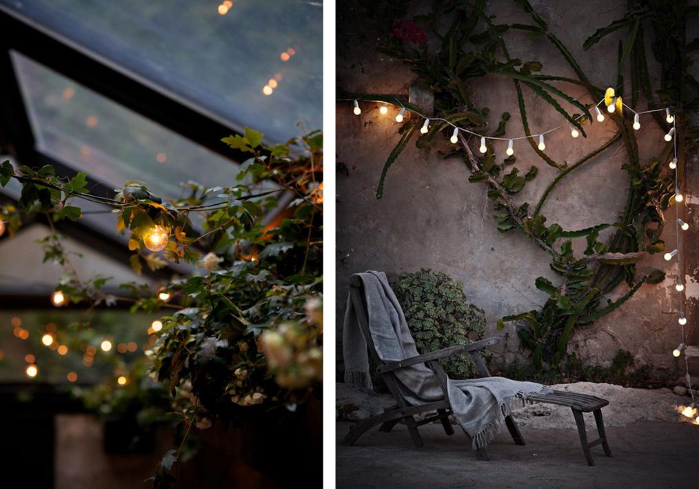 Ideas para una peque a terraza el tornillo que te falta for Luces de exterior para terrazas