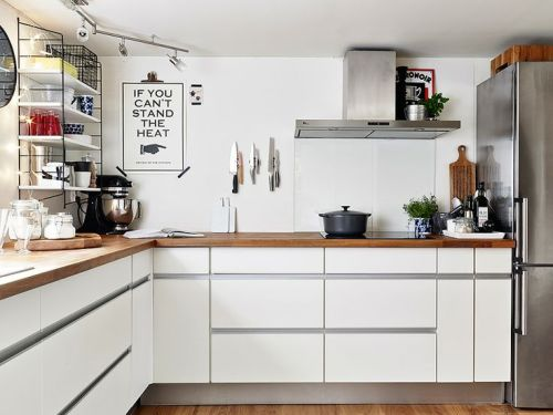 Encimeras de madera para la cocina el tornillo que te falta - Material encimera cocina ...