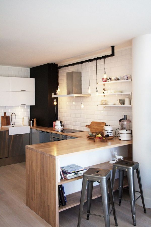 Encimeras de madera para la cocina el tornillo que te falta for Maderas para cocinas