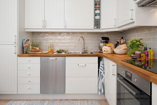 Encimeras de madera para la cocina el tornillo que te falta - Sobre encimera cocina ...