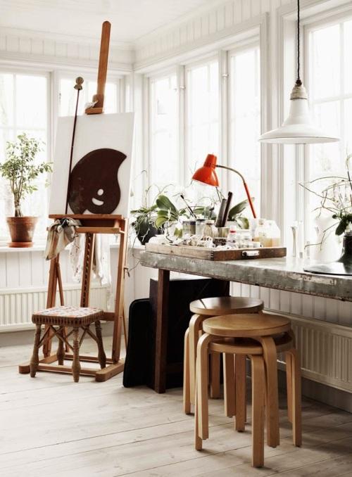 La casa de una artista (1)