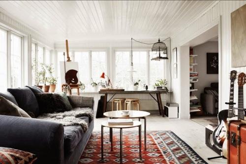 La casa de una artista (8)
