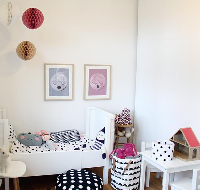 La habitaci n infantil de la peque a freja el tornillo - Decoracion habitacion infantil pequena ...