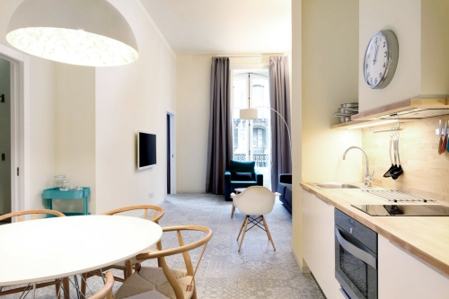Pau-Claris-Apartment-1-Barcelona-Kitchen