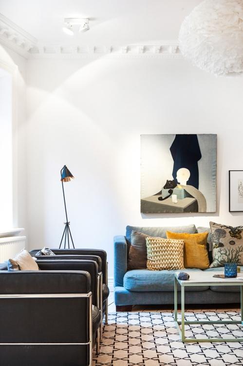 Un espacioso apartamento en Göteborg (1)