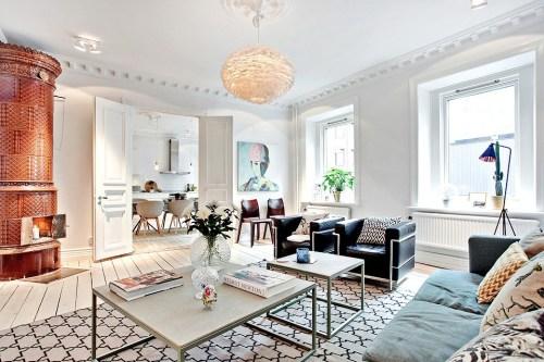 Un espacioso apartamento en Göteborg (3)