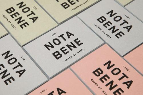 Blok Design! Nota Bene 01
